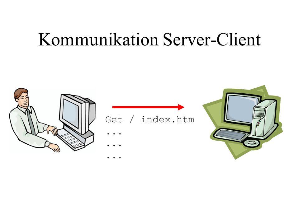 Kommunikation Server-Client