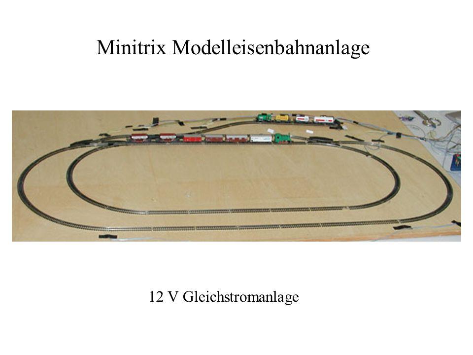 Minitrix Modelleisenbahnanlage