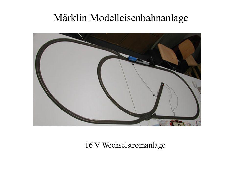 Märklin Modelleisenbahnanlage