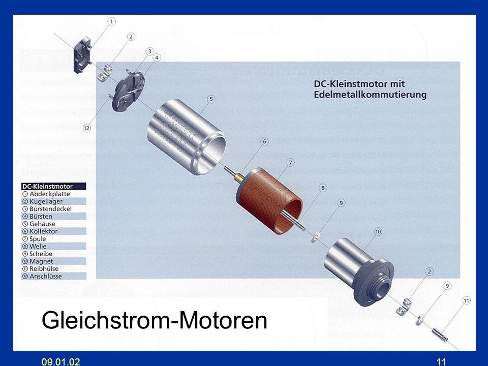 Gleichstrom-Motoren 09.01.02