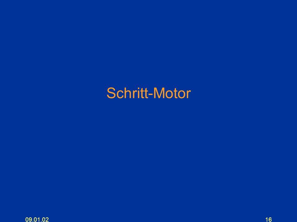 Schritt-Motor 09.01.02