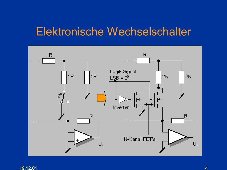 Elektronische Wechselschalter