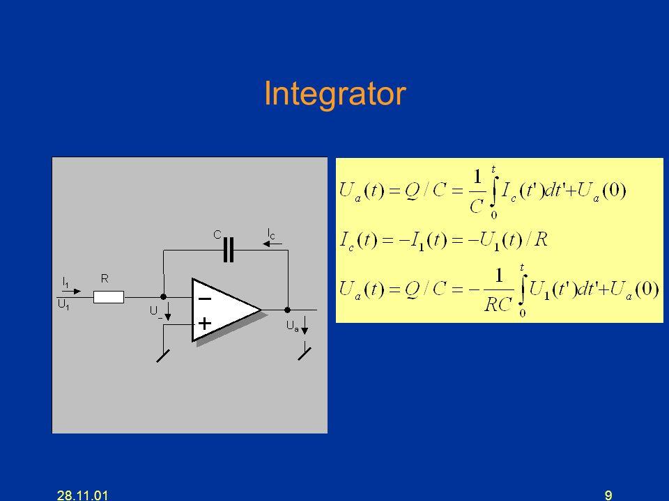 Integrator 28.11.01
