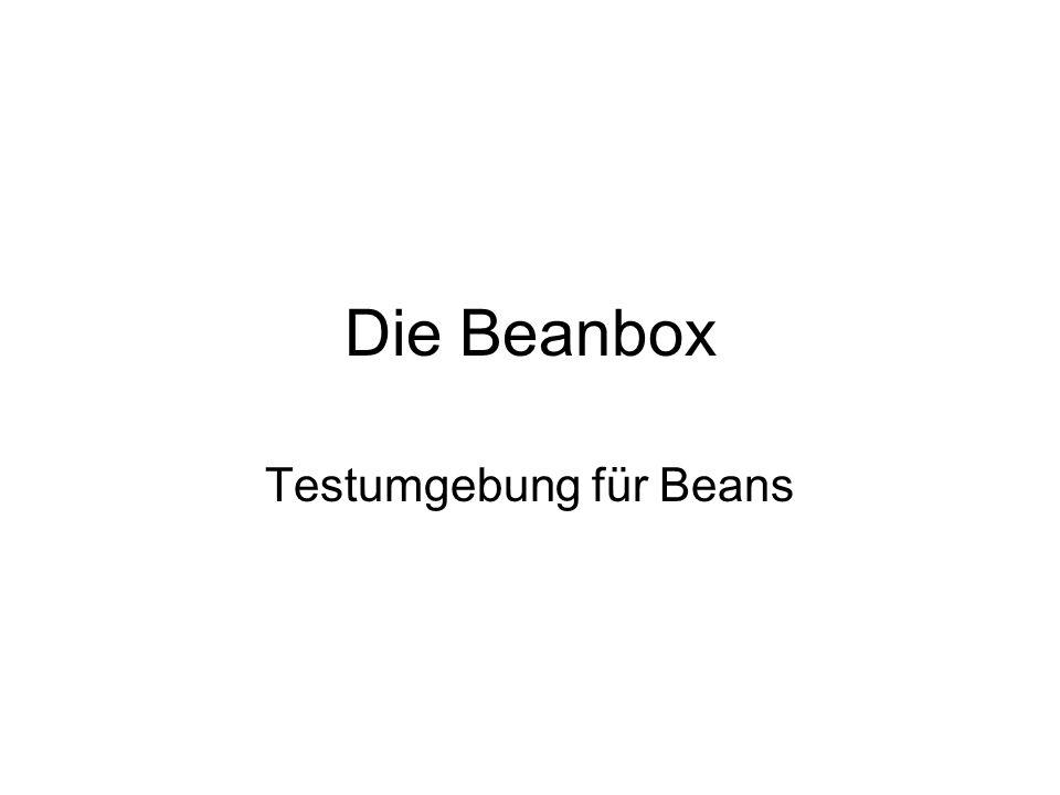 Testumgebung für Beans