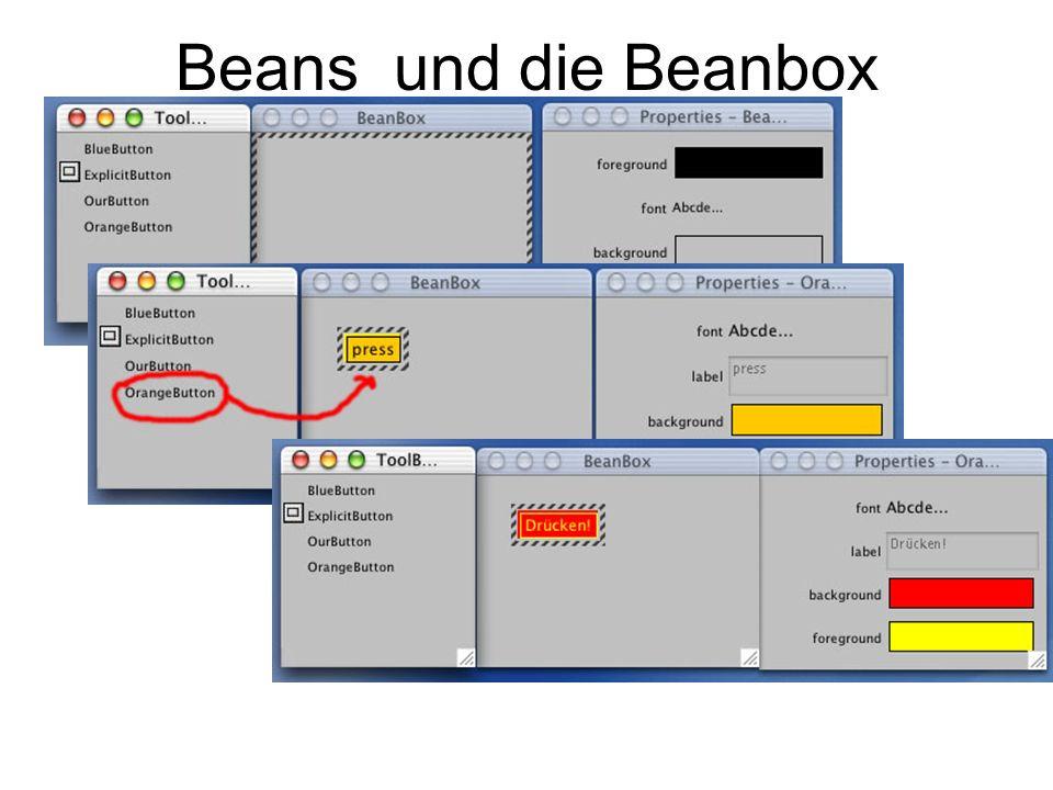 Beans und die Beanbox