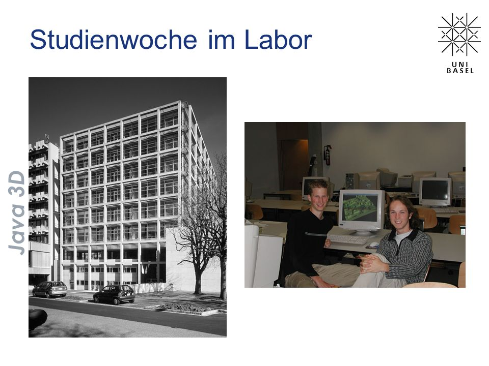 Studienwoche im Labor Java 3D