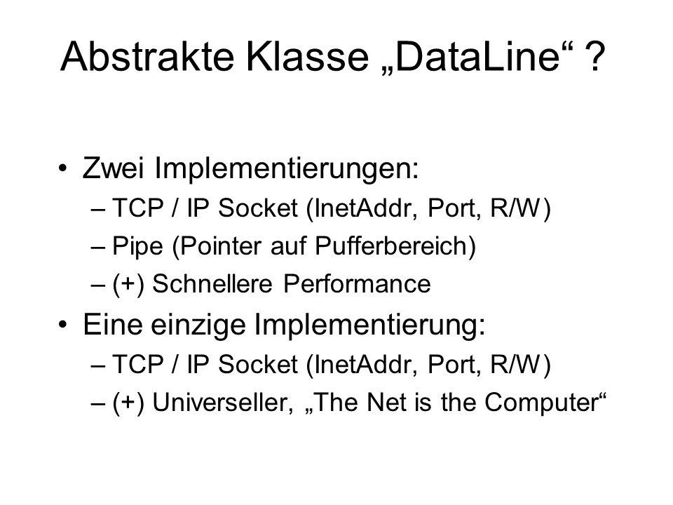 "Abstrakte Klasse ""DataLine"