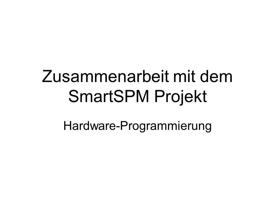 Zusammenarbeit mit dem SmartSPM Projekt