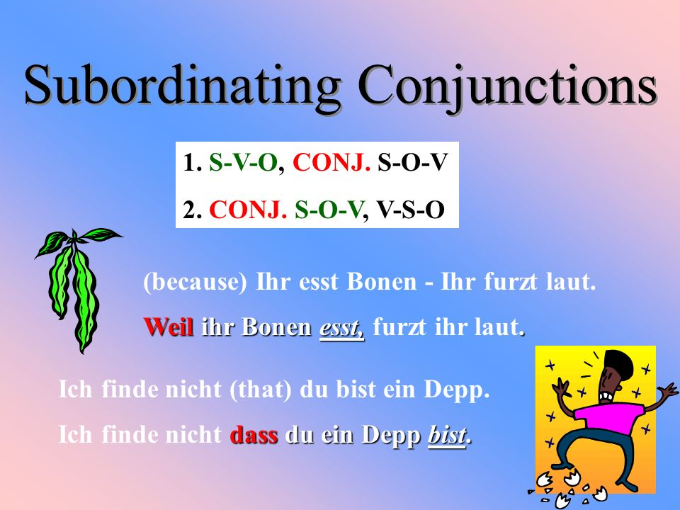 Subordinating Conjunctions