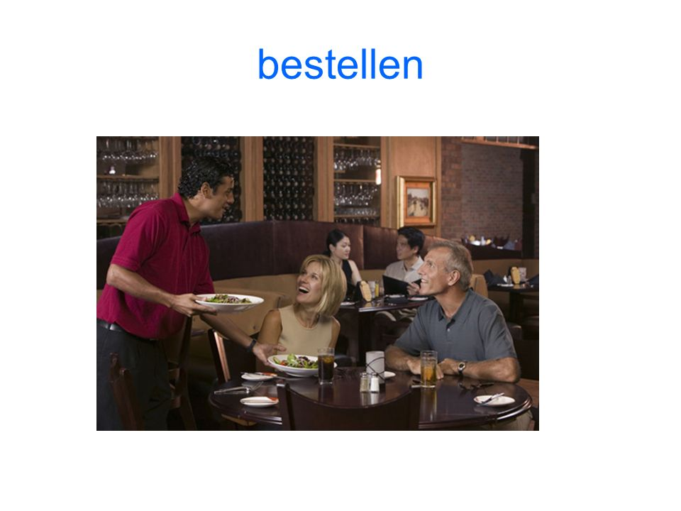 bestellen