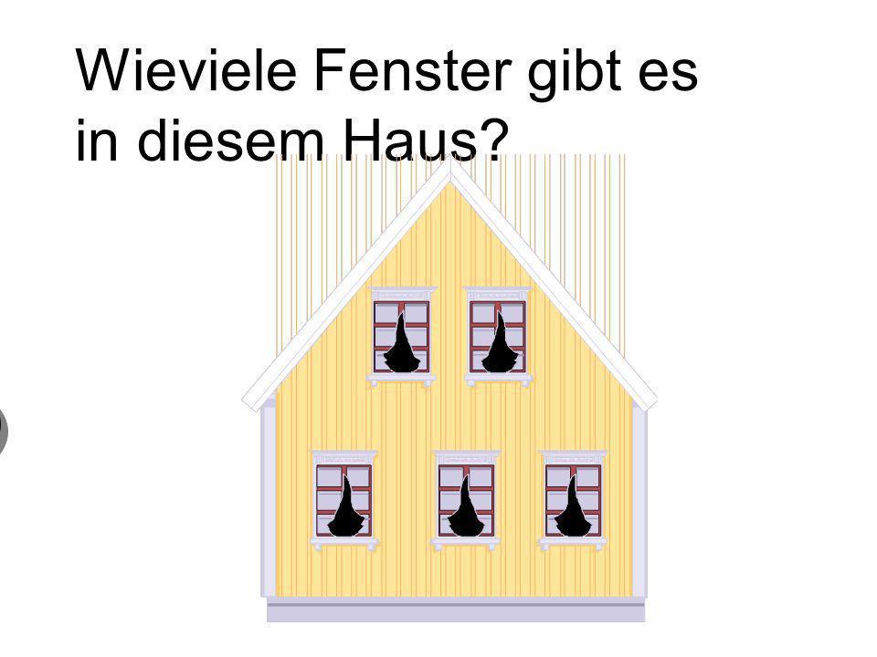 Wieviele Fenster gibt es in diesem Haus