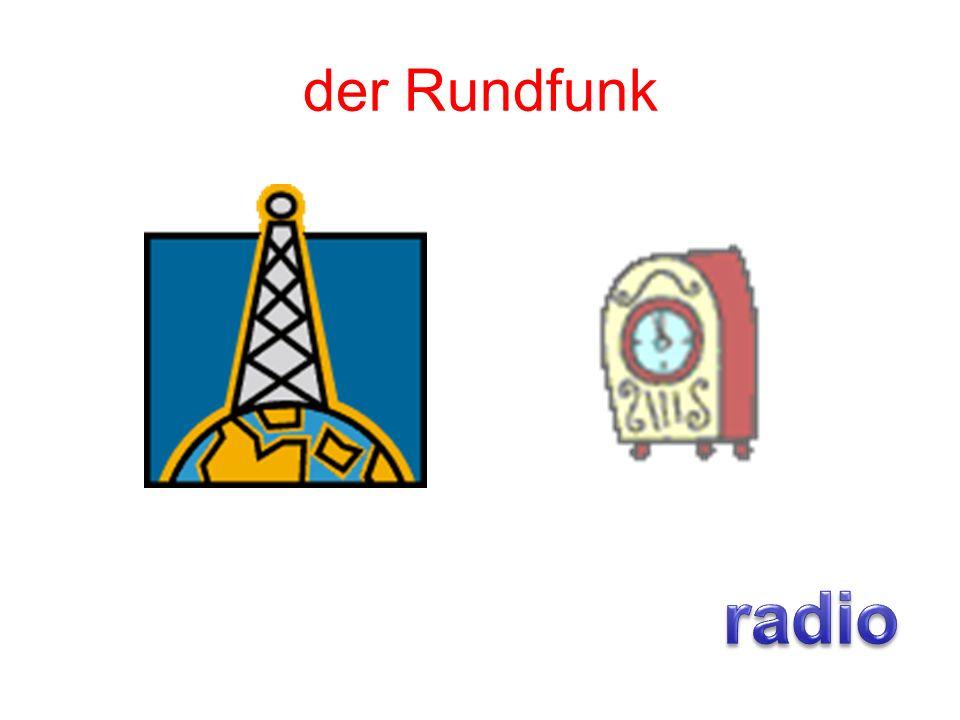 der Rundfunk radio