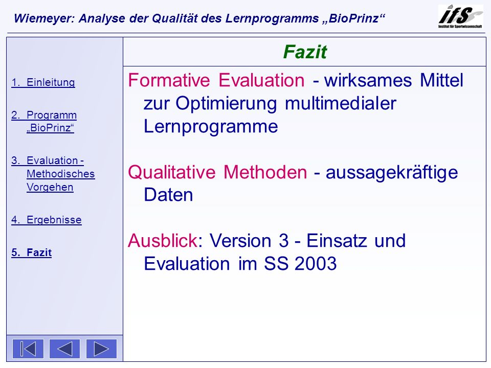 Qualitative Methoden - aussagekräftige Daten