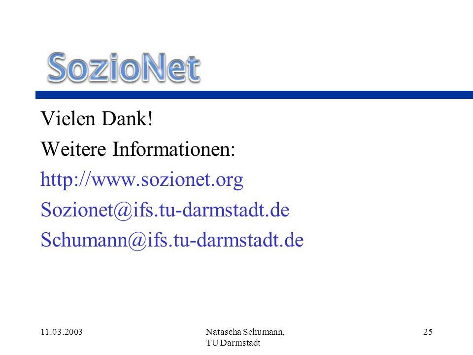 Weitere Informationen: http://www.sozionet.org