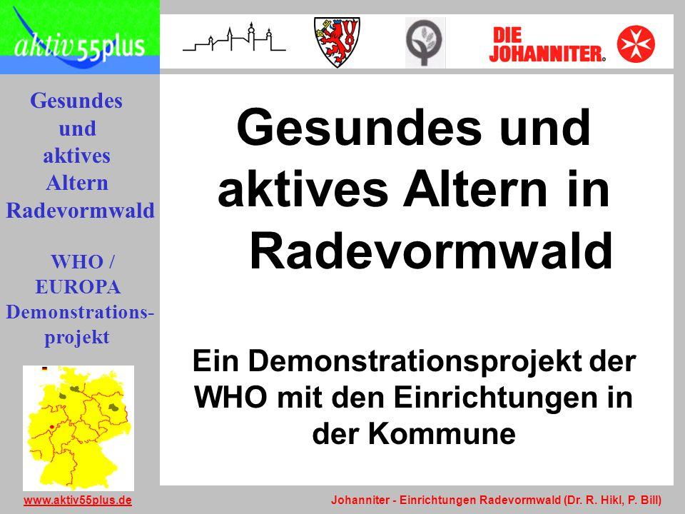 Gesundes und aktives Altern in Radevormwald