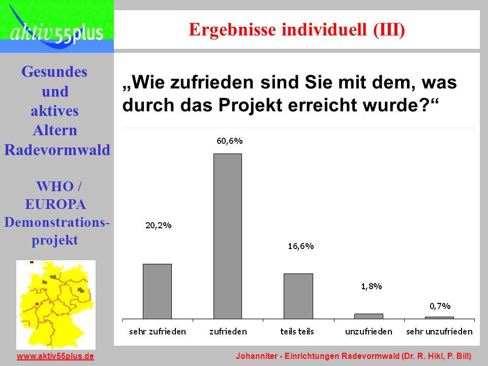 Ergebnisse individuell (III)
