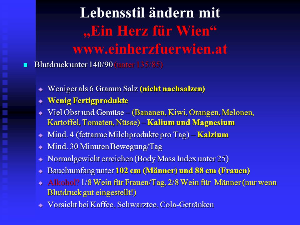 """Lebensstil ändern mit """"Ein Herz für Wien www.einherzfuerwien.at"""