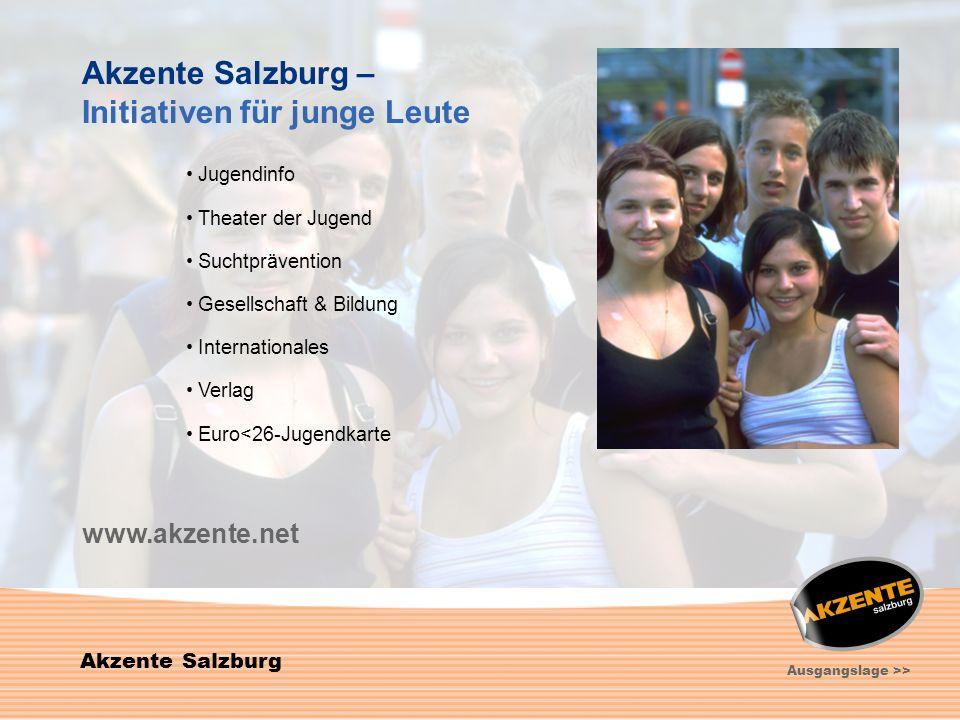 Initiativen für junge Leute
