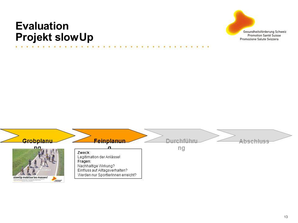 Evaluation Projekt slowUp