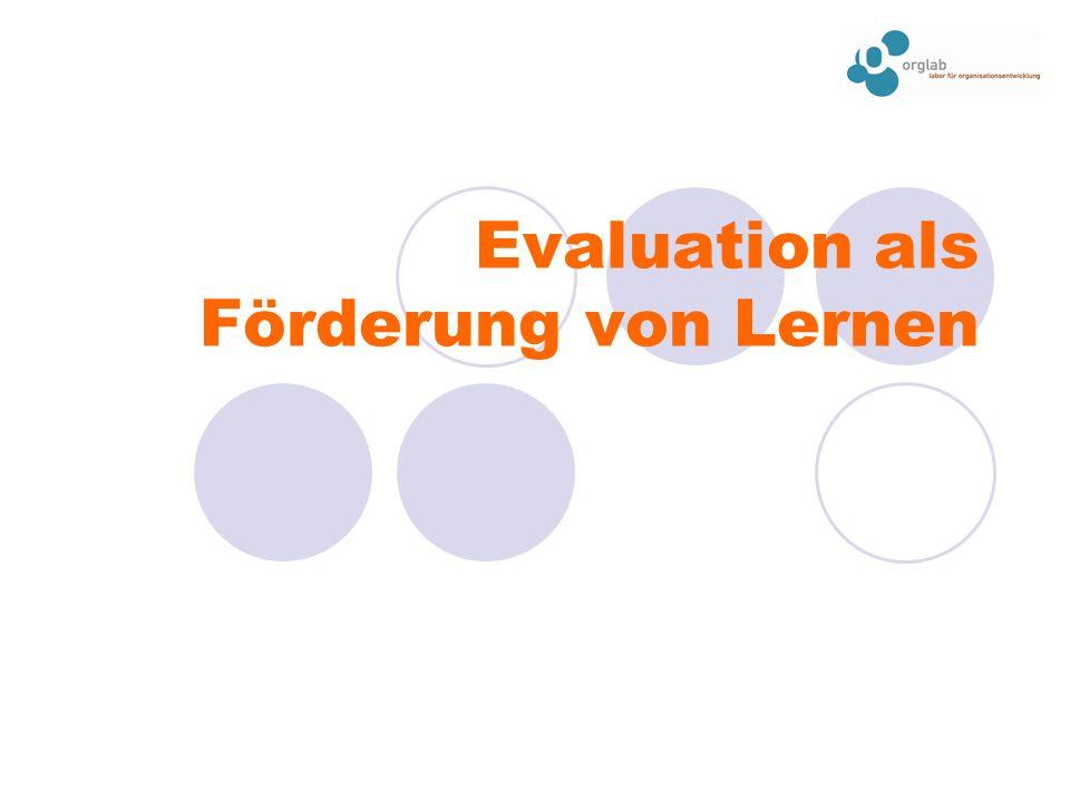 Evaluation als Förderung von Lernen