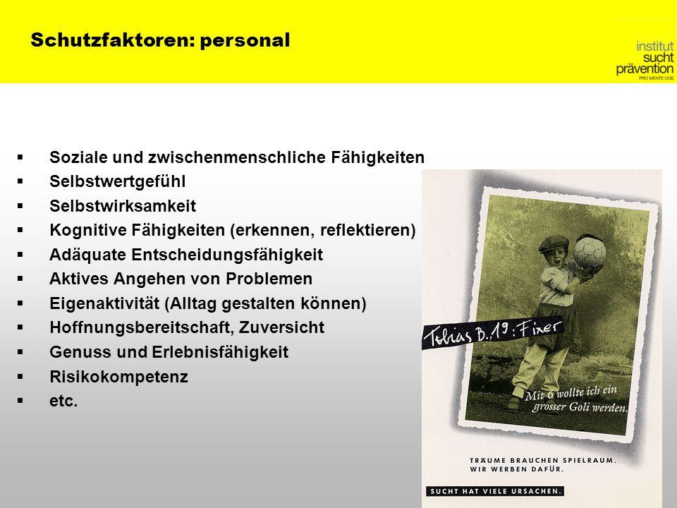 Schutzfaktoren: personal