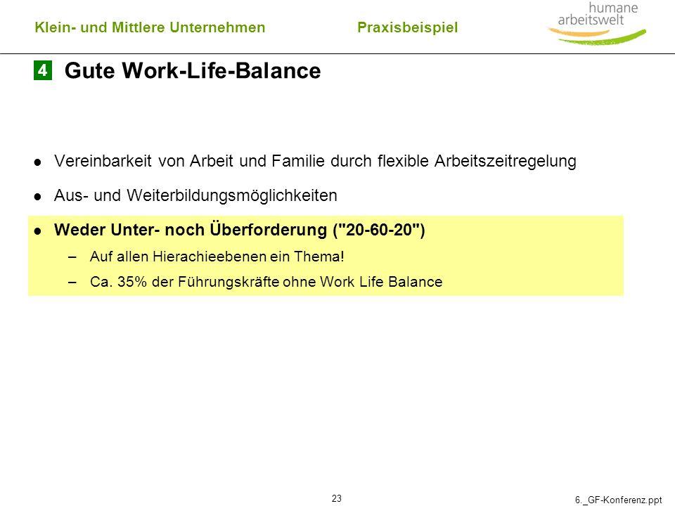 Gute Work-Life-Balance