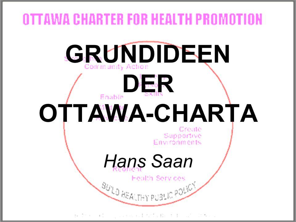 GRUNDIDEEN DER OTTAWA-CHARTA