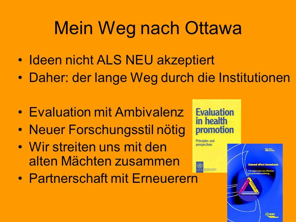 Mein Weg nach Ottawa Ideen nicht ALS NEU akzeptiert