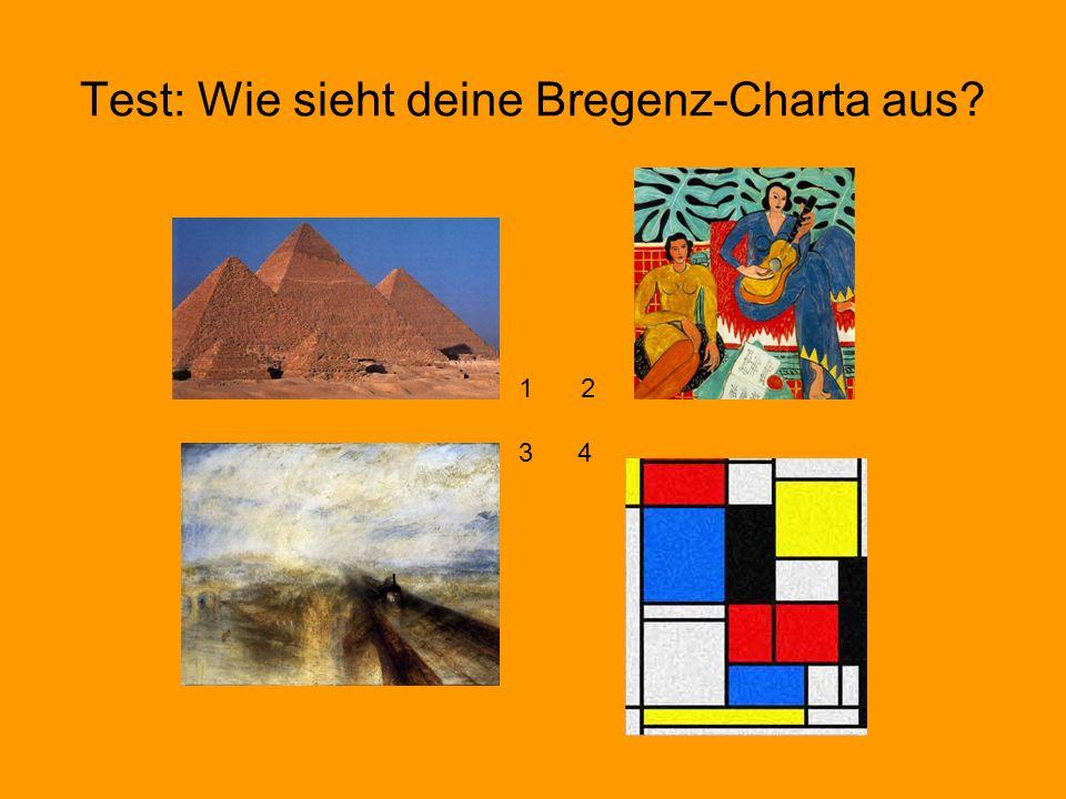 Test: Wie sieht deine Bregenz-Charta aus