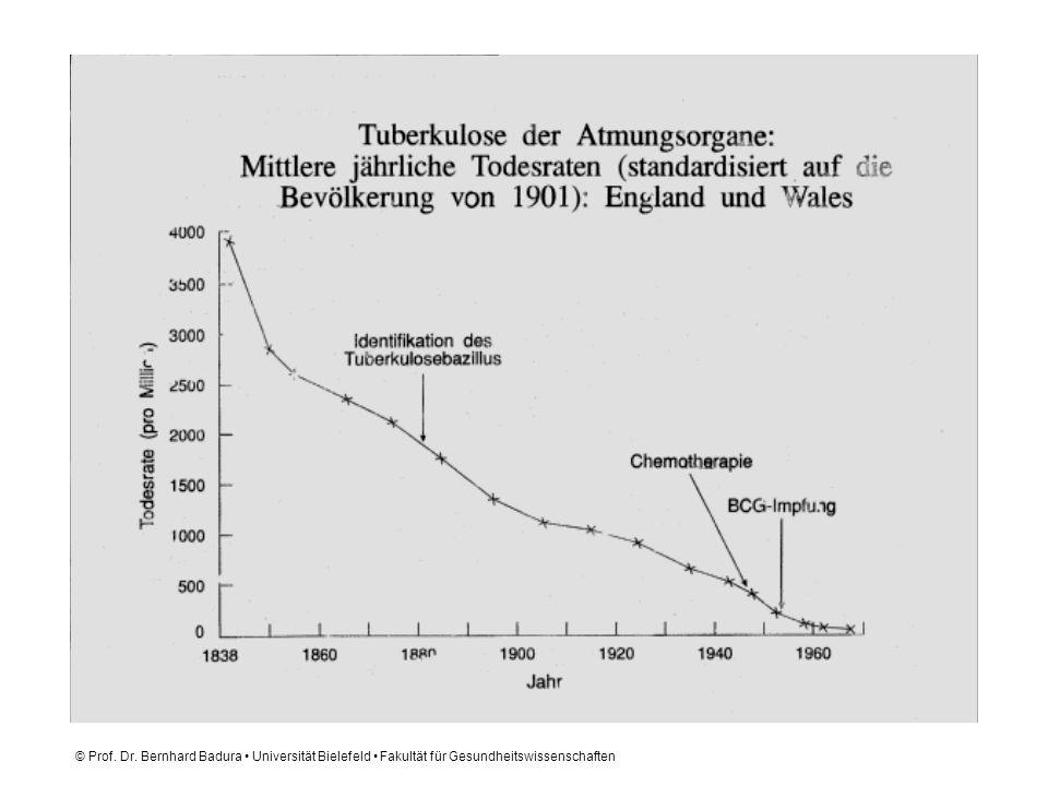 © Prof. Dr. Bernhard Badura • Universität Bielefeld • Fakultät für Gesundheitswissenschaften