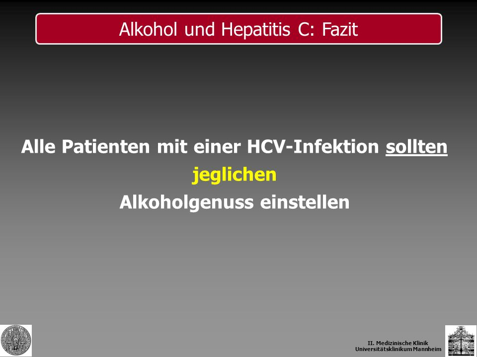 II. Medizinische Klinik Universitätsklinikum Mannheim