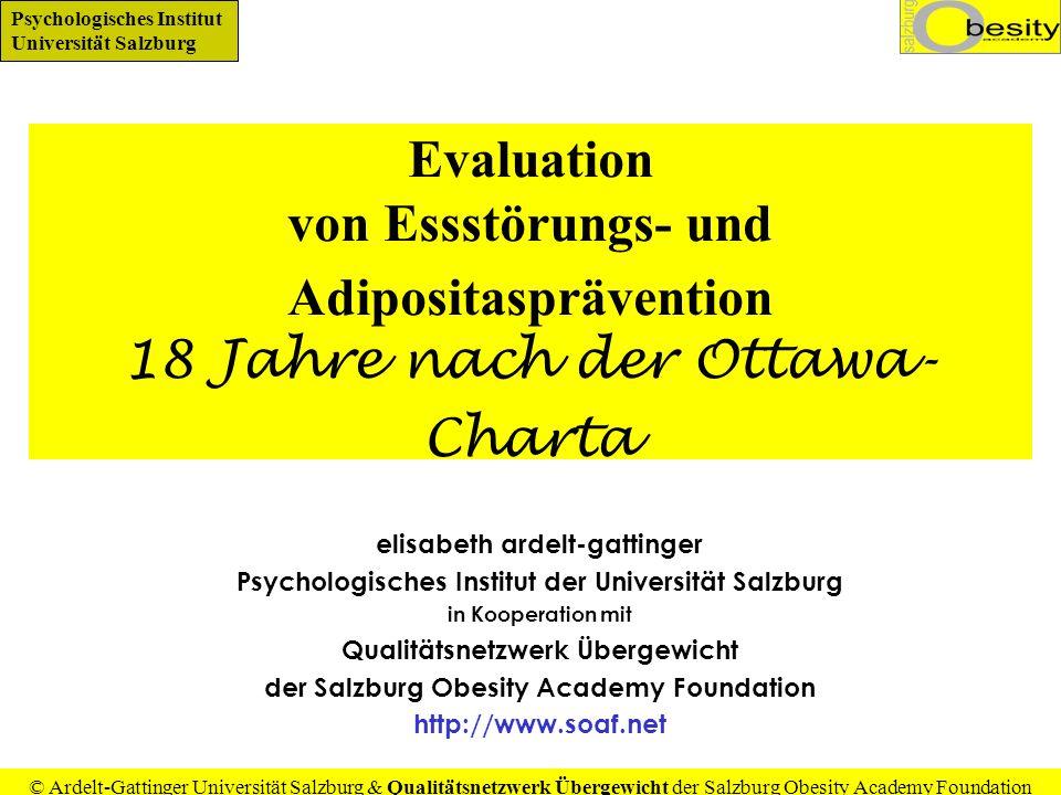Evaluation von Essstörungs- und Adipositasprävention 18 Jahre nach der Ottawa-Charta
