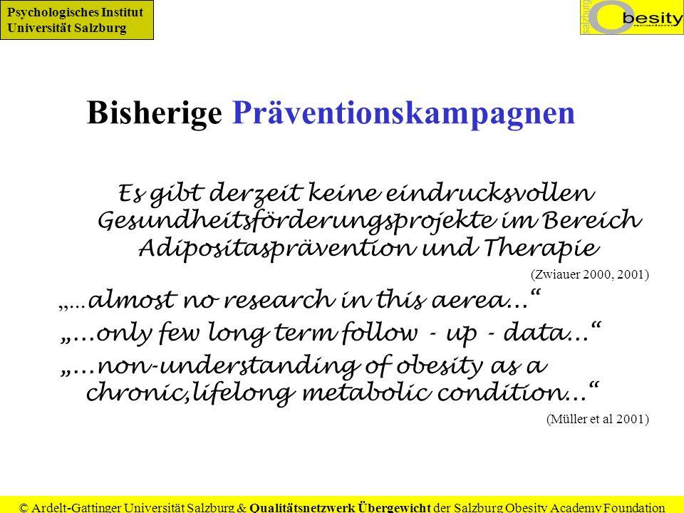 Bisherige Präventionskampagnen