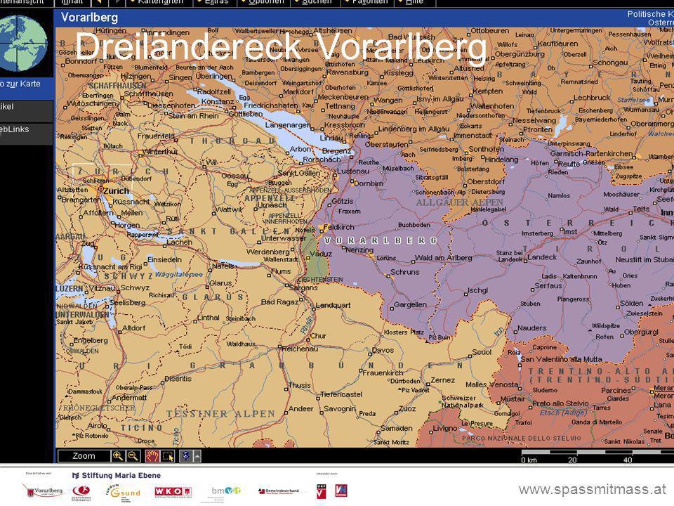 Dreiländereck Vorarlberg