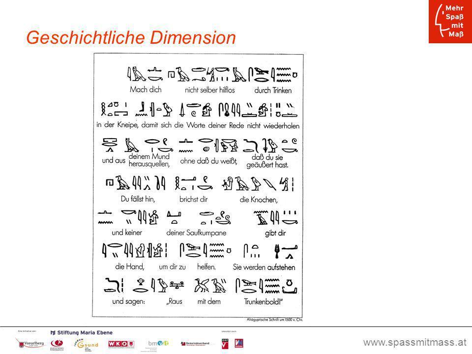 Geschichtliche Dimension