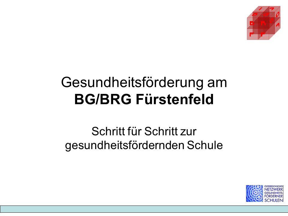 Gesundheitsförderung am BG/BRG Fürstenfeld