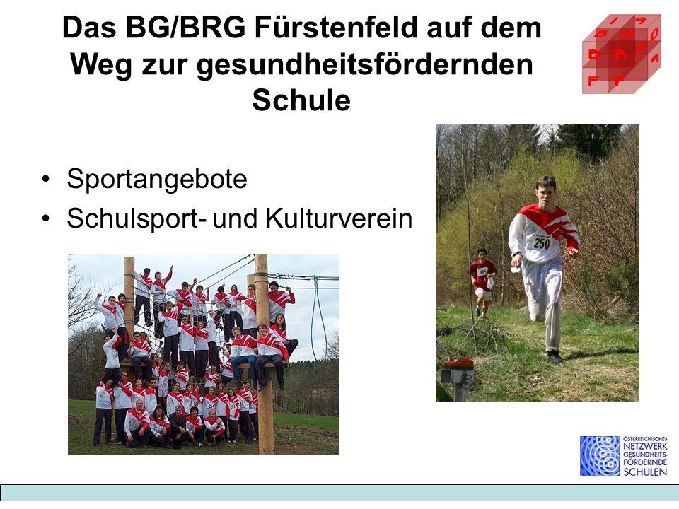 Das BG/BRG Fürstenfeld auf dem Weg zur gesundheitsfördernden Schule