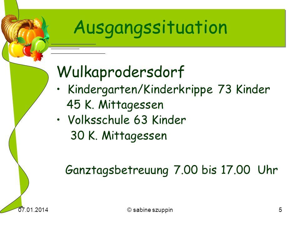Ausgangssituation Wulkaprodersdorf