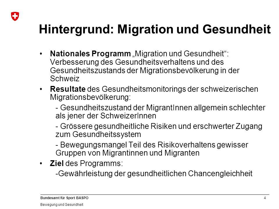 Hintergrund: Migration und Gesundheit