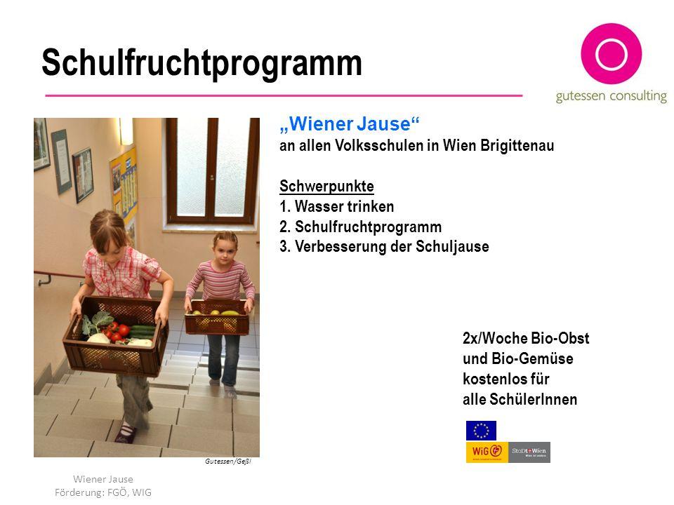 """Schulfruchtprogramm """"Wiener Jause"""