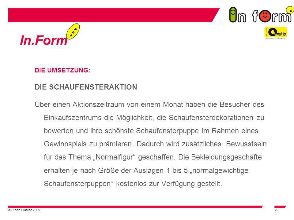In.Form DIE SCHAUFENSTERAKTION