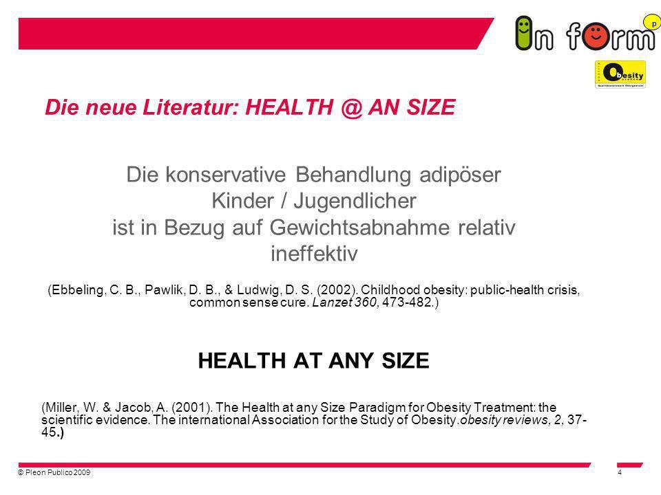 Die neue Literatur: HEALTH @ AN SIZE
