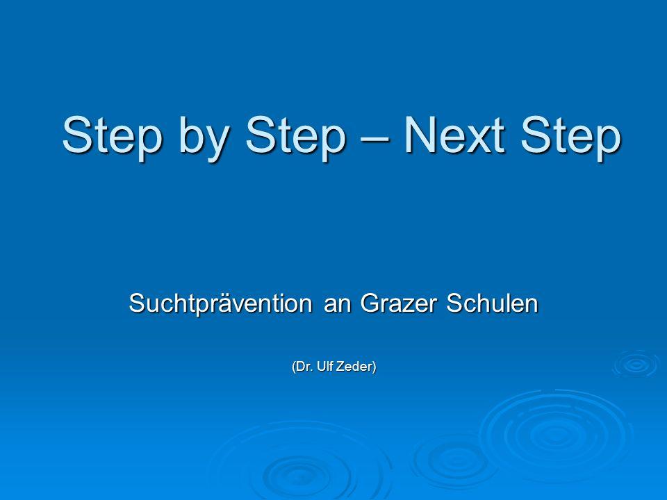 Suchtprävention an Grazer Schulen (Dr. Ulf Zeder)