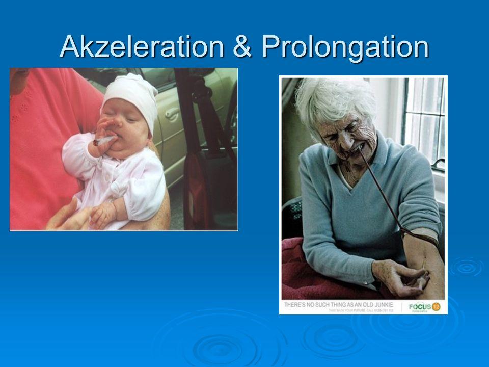 Akzeleration & Prolongation