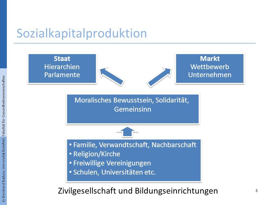 Sozialkapitalproduktion