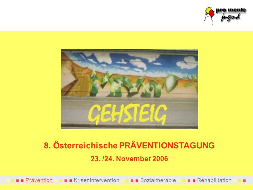8. Österreichische PRÄVENTIONSTAGUNG