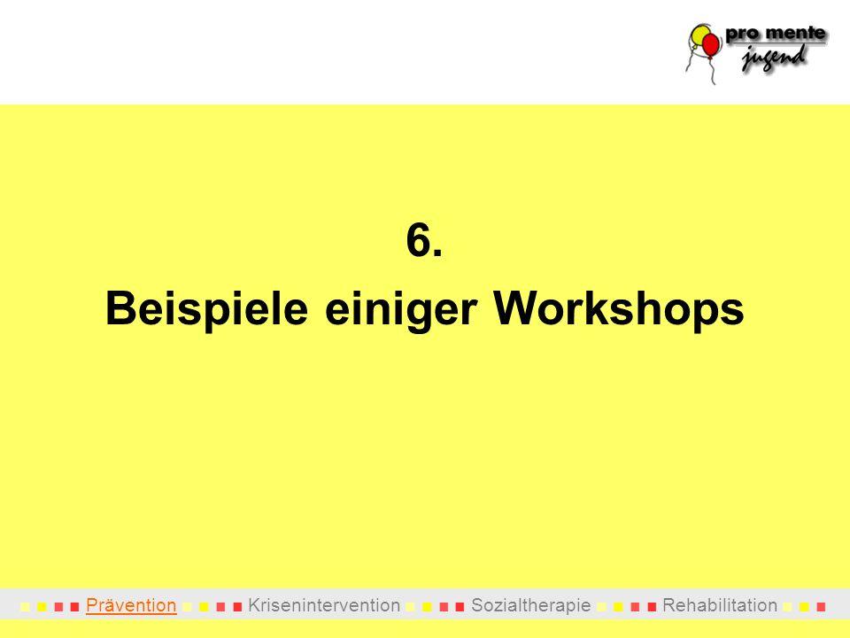 Beispiele einiger Workshops
