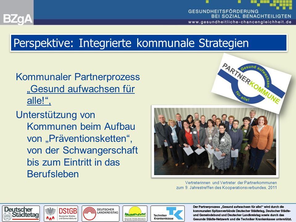 Perspektive: Integrierte kommunale Strategien