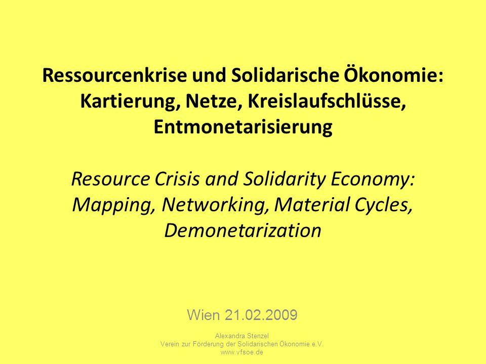Verein zur Förderung der Solidarischen Ökonomie e.V.