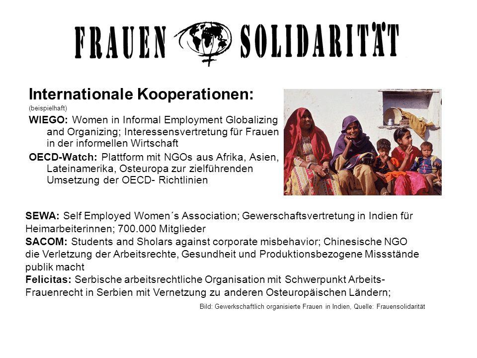 Internationale Kooperationen: